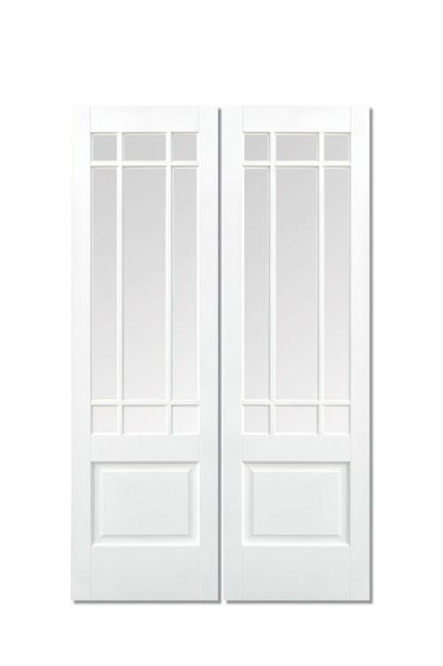 Downham White Glazed Pair Image