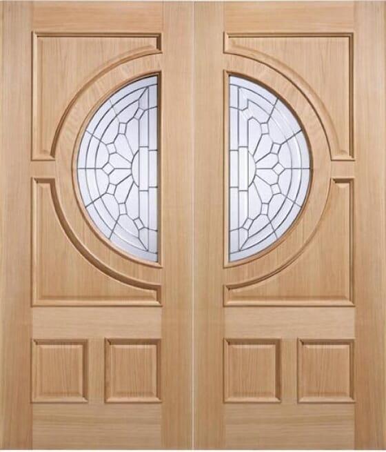 Empress Oak Door Pairs Image