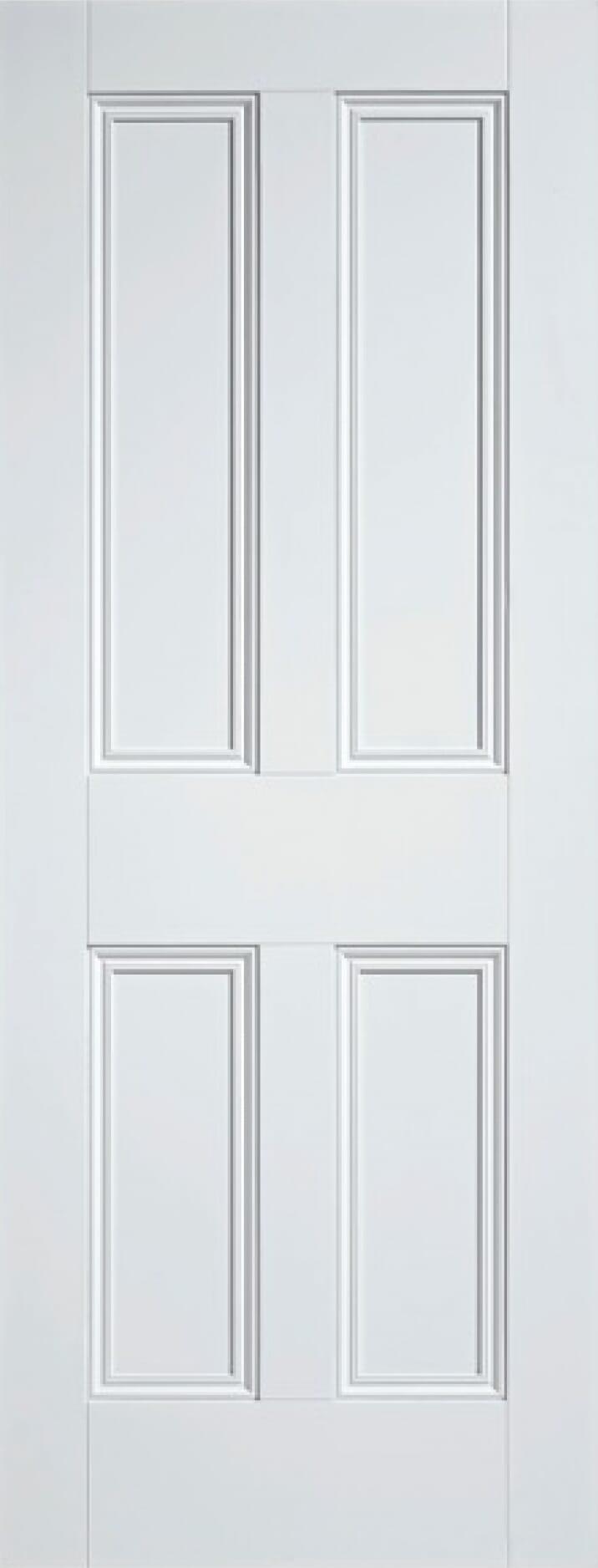 Malton Nostalgia 4p Solid White Image