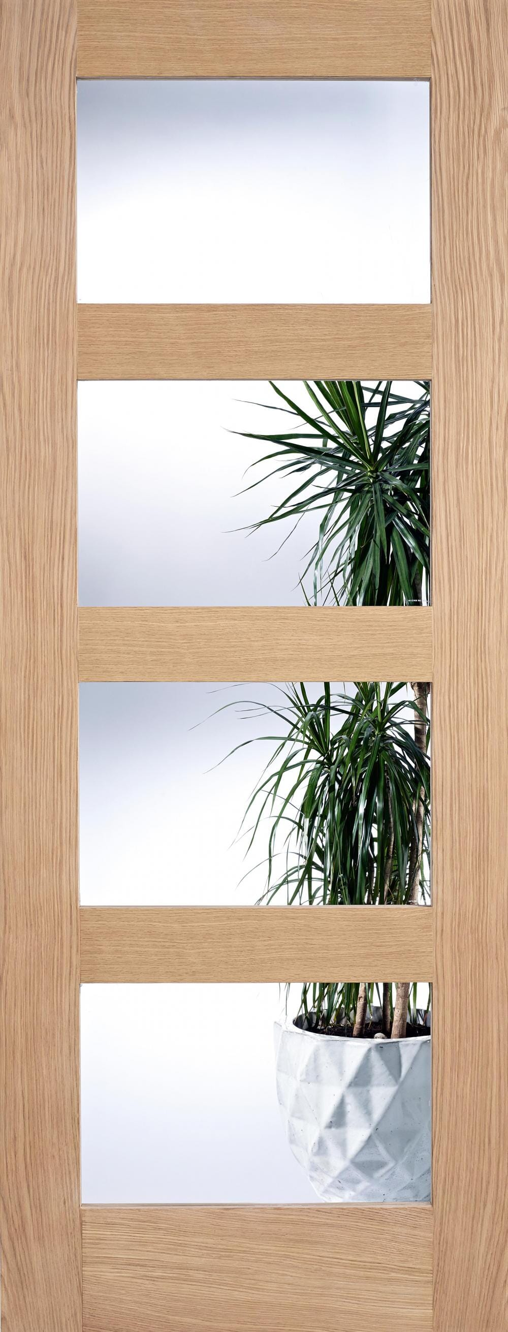 Oak Shaker 4l - Clear Glass Image
