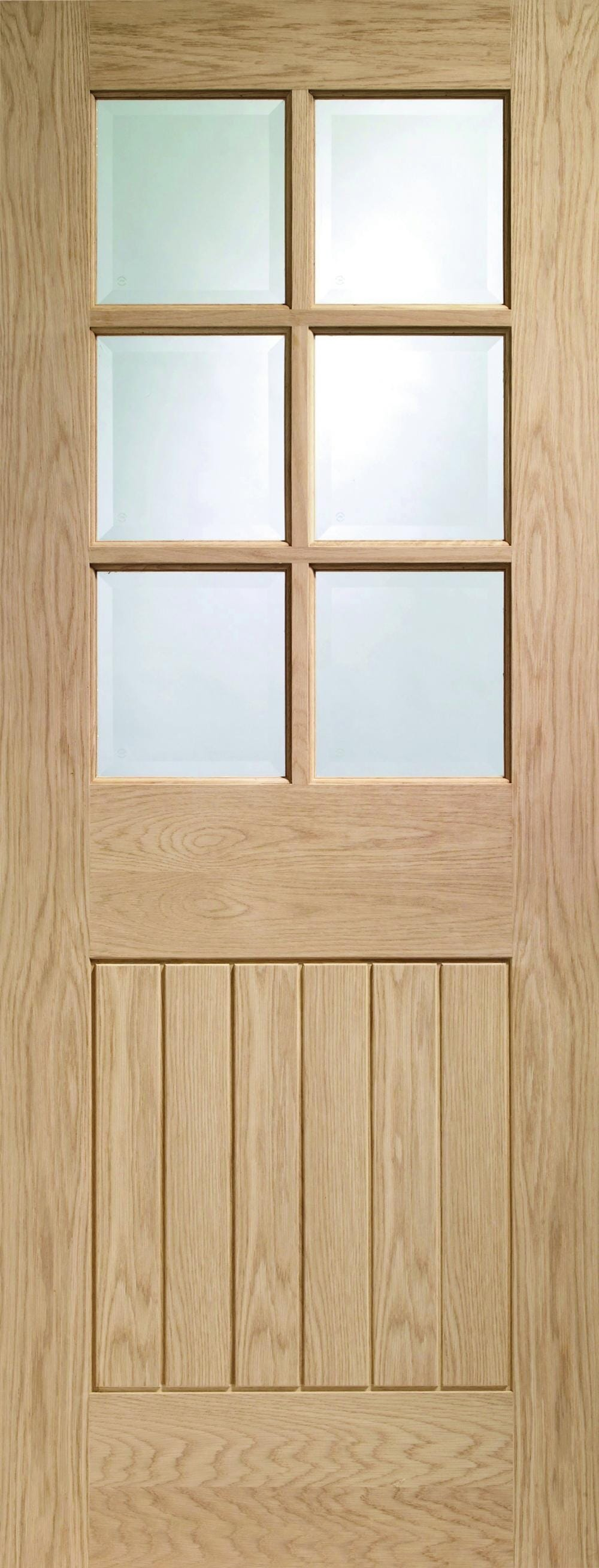 Suffolk Oak - Prefinished Clear Glass Image