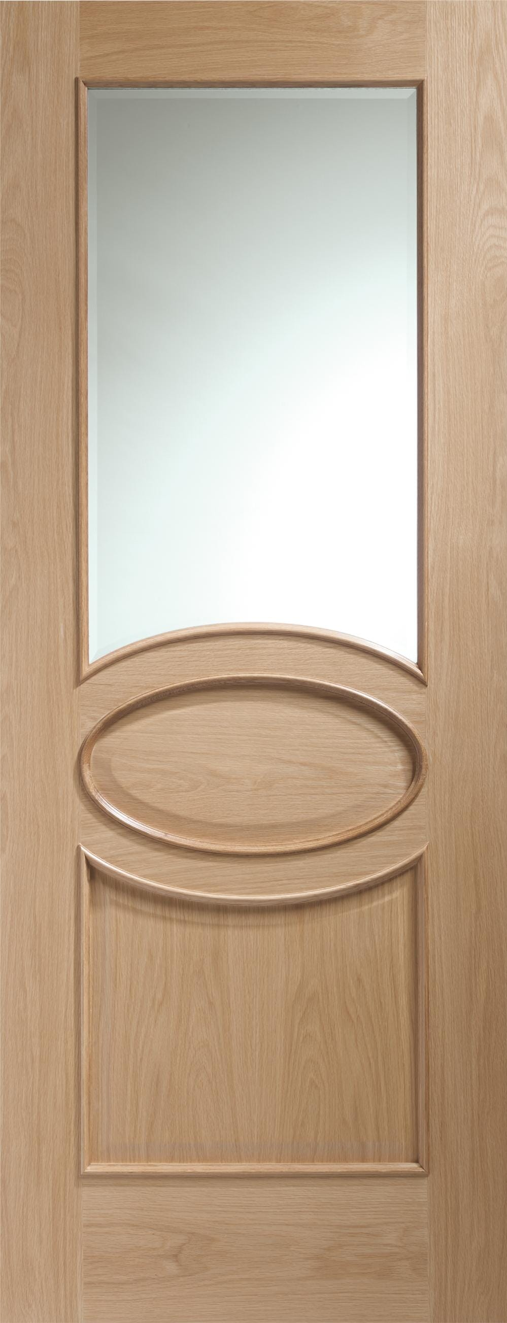 Calabria Oak Rm2s Clear Glazed - Xl Joinery Image