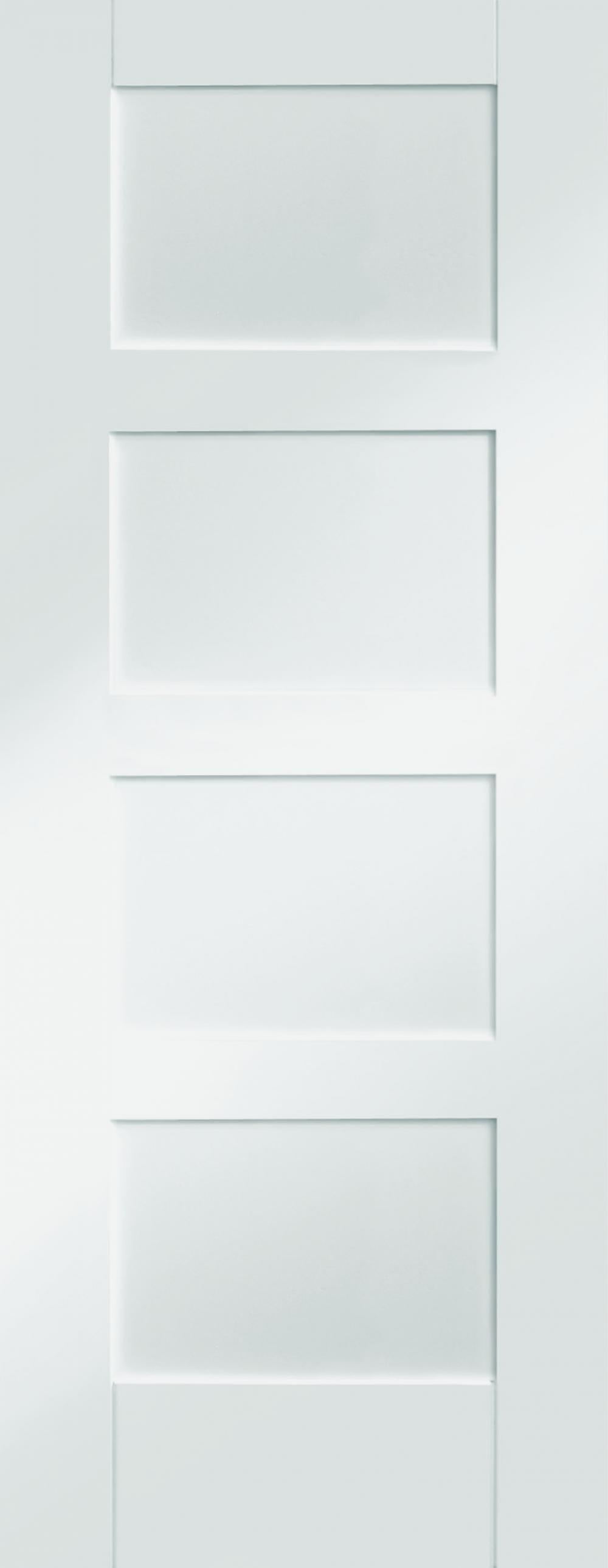4 Panel White Shaker Image
