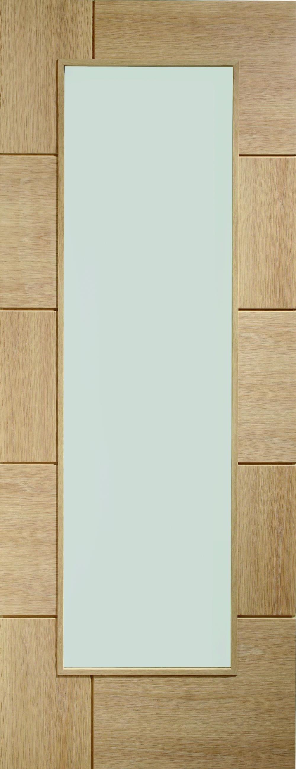 Ravenna Oak - Clear Glass Image