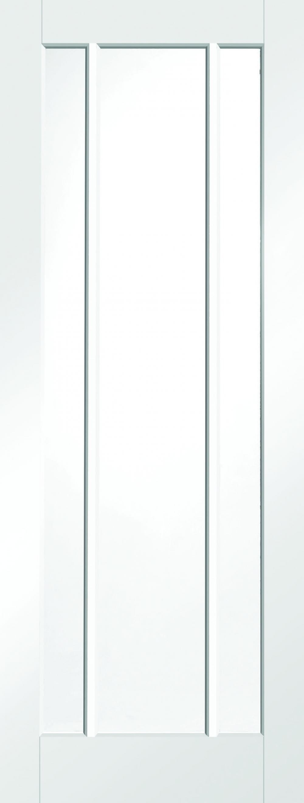 Worcester White - Clear Glass Image