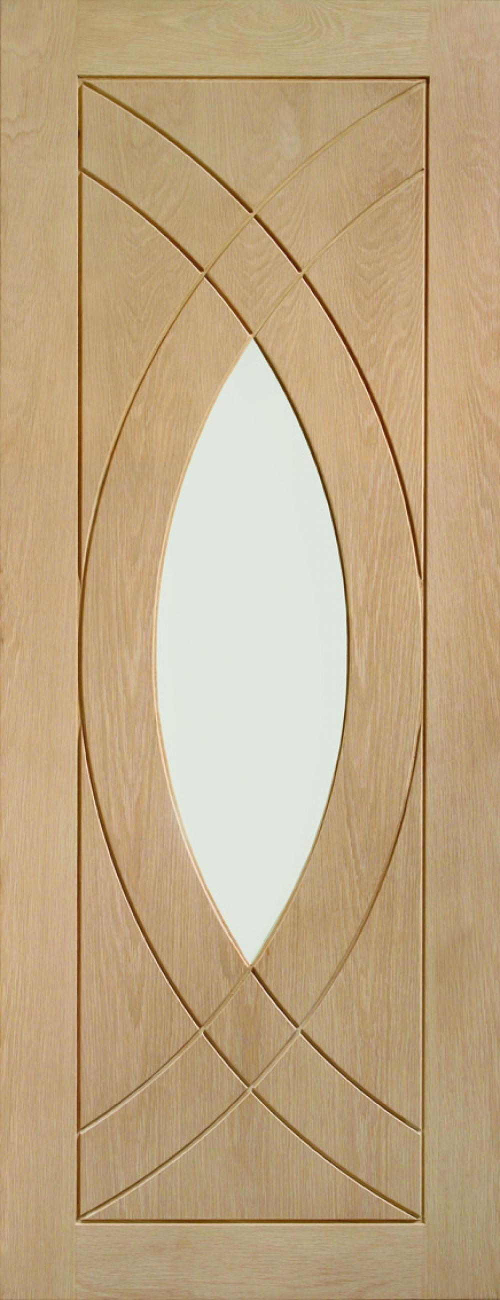 Treviso Oak - Clear Glass Image