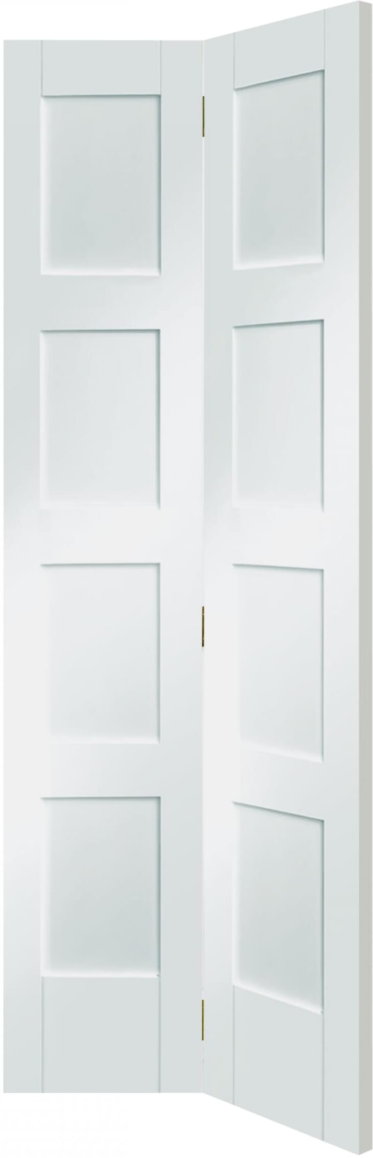 4 Panel White Bi-fold Image