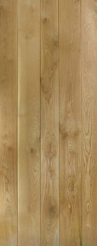 Solid Oak Ledged Image