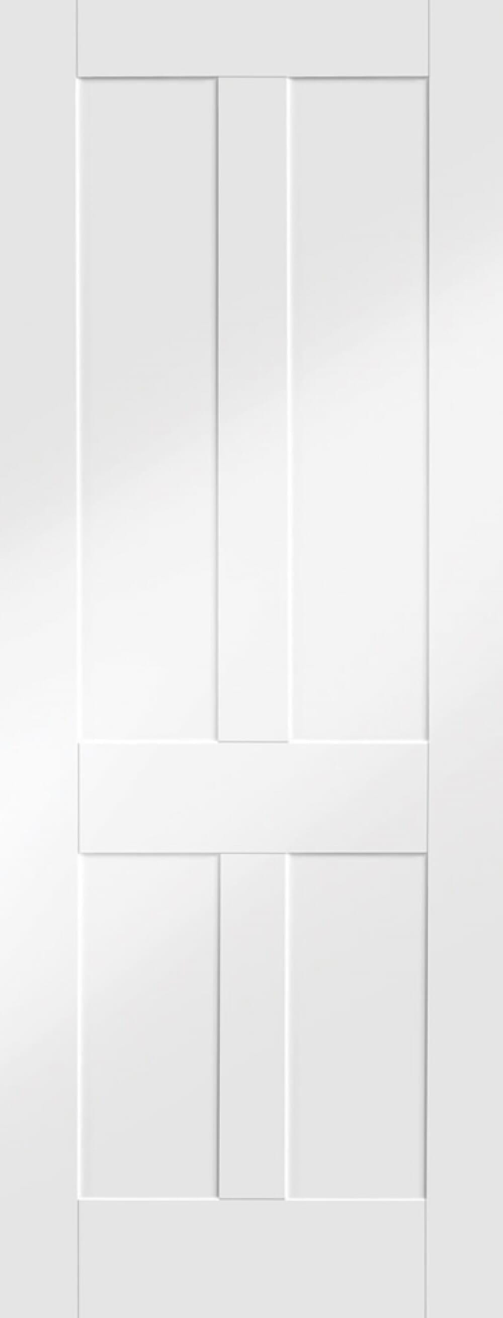 White Victorian 4 Panel Shaker Image