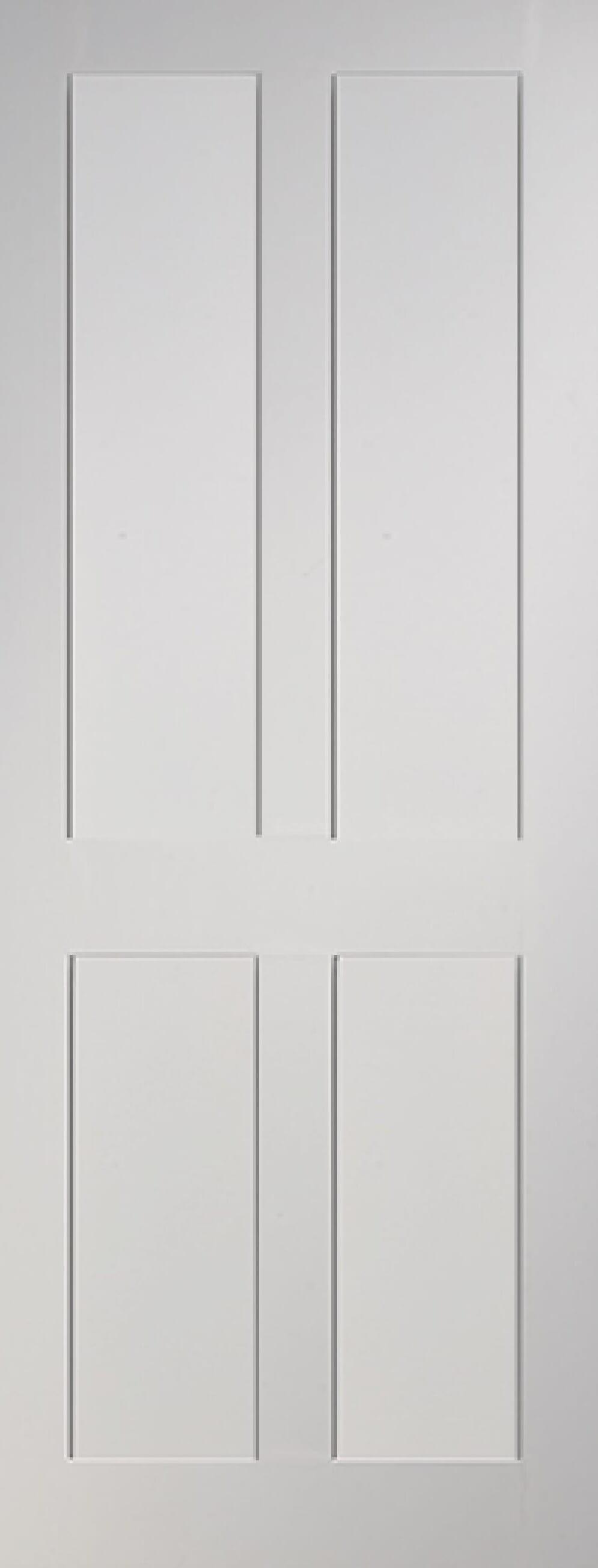 Eton 4 Panel Flat White Image