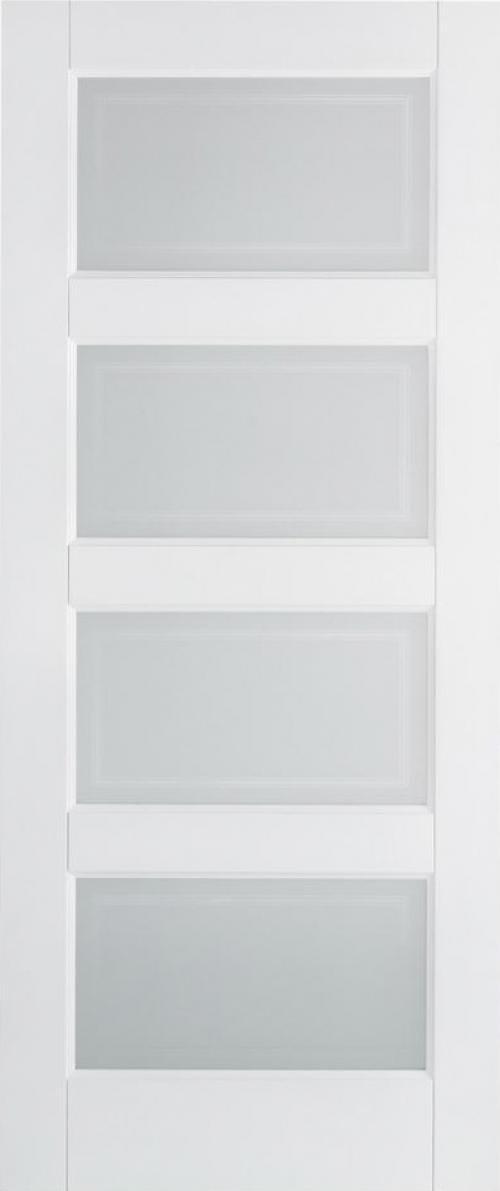 Contemporary 4l Glazed White Image