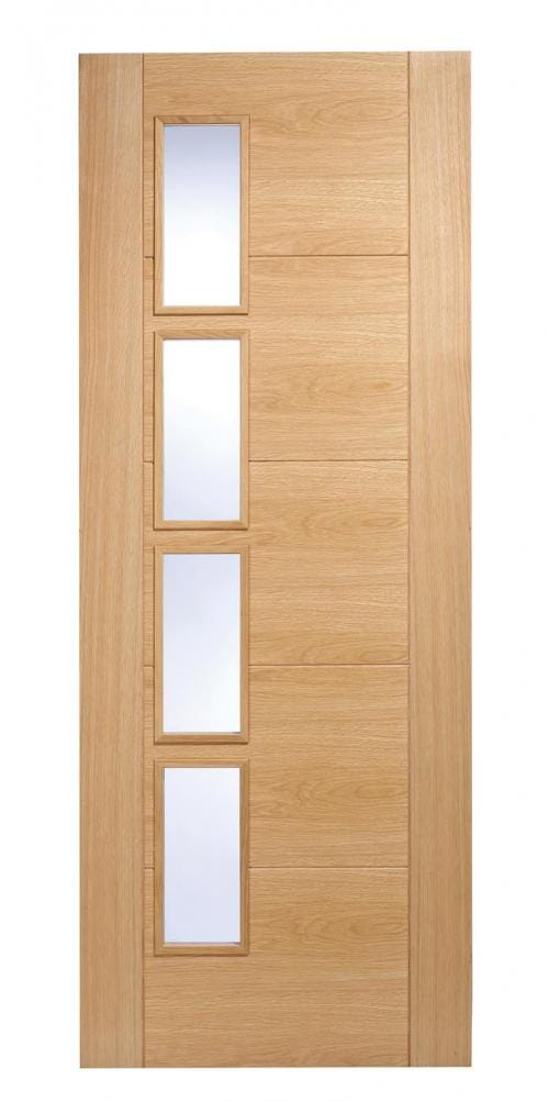 Vancouver 4l Offset Oak - Clear Prefinished Image
