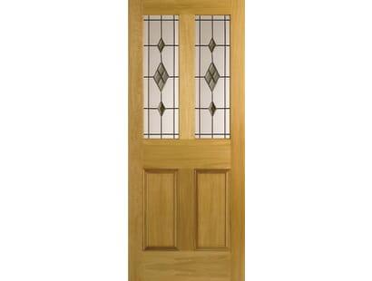 Malton Smoked Abe-lead Door  Image