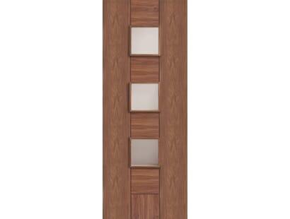 Messina Walnut Glazed  Door - Prefinished Image