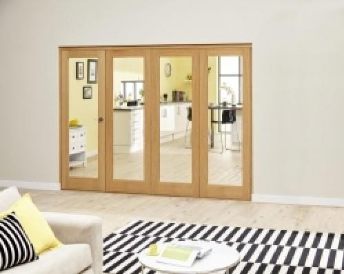 Prefinished P10 Oak Roomfold Deluxe (4 x 610mm doors)
