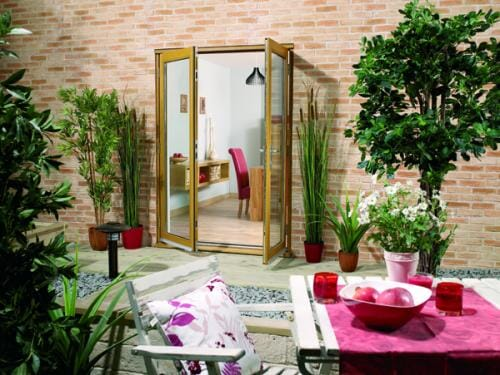 NUVU OAK 1800mm (6ft) French Doors