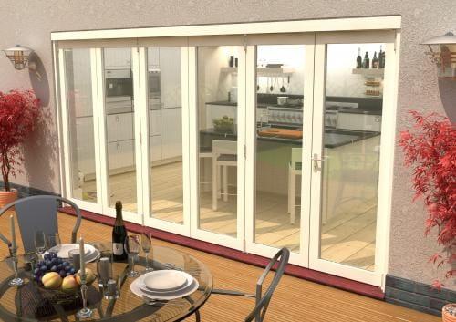 Climadoor Classic White Folding door 4200mm Image