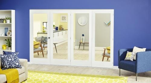 White P10 Roomfold Deluxe ( 4 x 533mm doors )