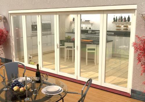 Climadoor Classic White Folding door 4800mm Image