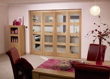 Shaker 4 light 4 Door Roomfold (4 x 2