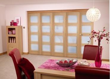 Oak Pre finished 4L Roomfold door (5 x 2