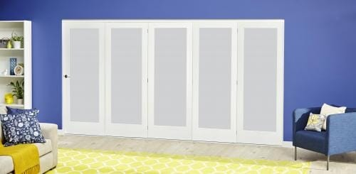3000mm (10ft) White P10 Frosted Roomfold Deluxe