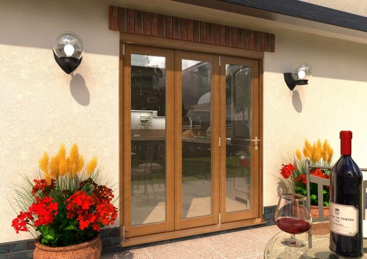 Climadoor Solid Oak Bifold Door 1800mm (6ft)  Image