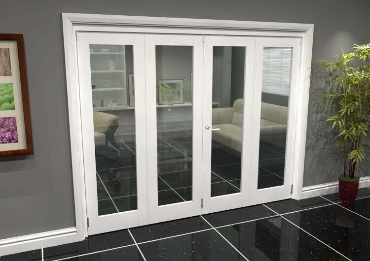 White P10 Roomfold Grande (2 + 2 X 610mm Doors) Image