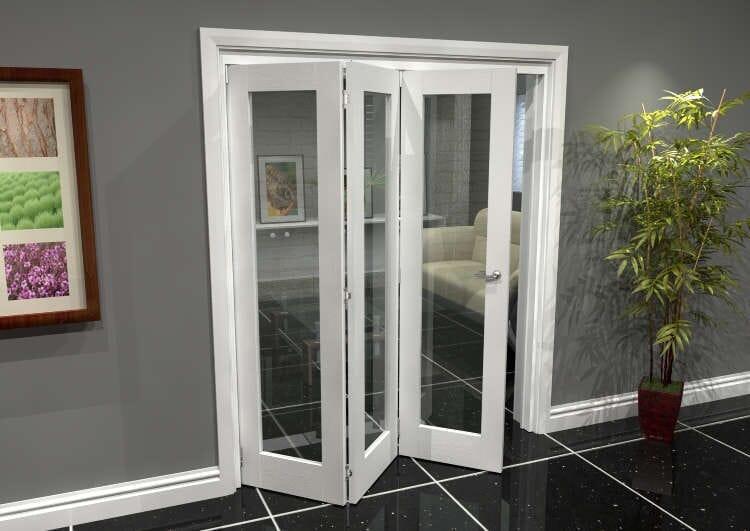 White P10 Roomfold Grande (3 + 0 X 610mm Doors) Image