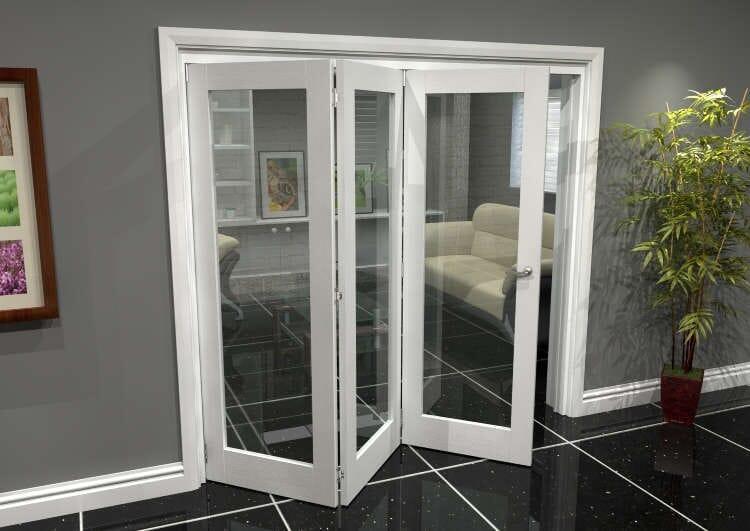 White P10 Roomfold Grande (3 + 0 X 686mm Doors) Image