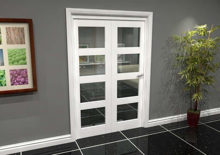 White 4l Roomfold Grande (2 + 0 X 686mm Doors) Image