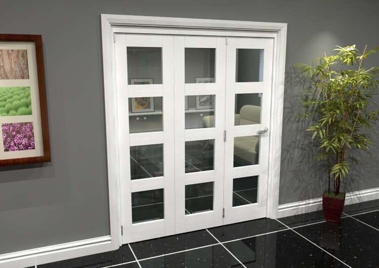 White 4l Roomfold Grande (3 + 0 X 610mm Doors) Image