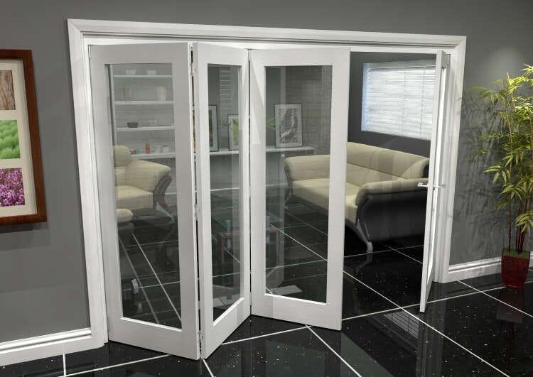 White P10 Roomfold Grande (3 + 1 X 686mm Doors) Image