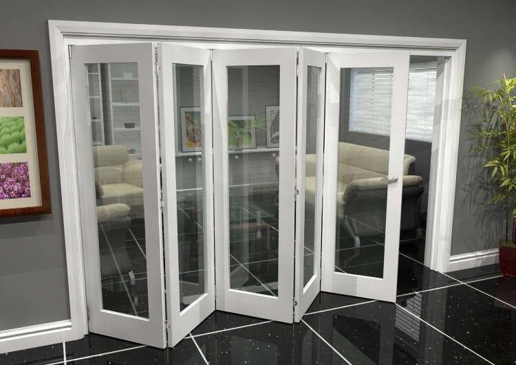 White P10 Roomfold Grande 3000mm (10ft) 5 + 0 Set Image